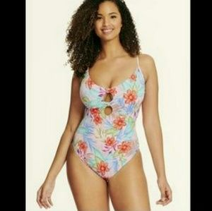 f31f15071a NWT Beach Betty One Piece Floral Size Small